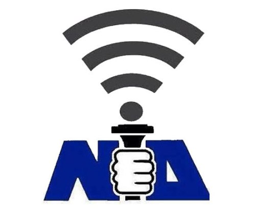 Images like this replacing the flame with a wifi signal in New Democracy's old logo appeared on social media following Antonis Samaras' 2013 promise